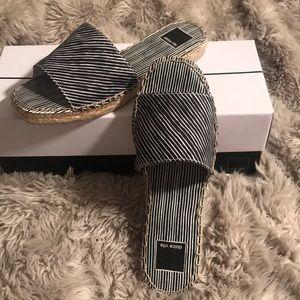 Dolce Vita striped sandals